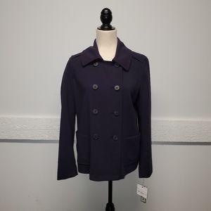 NWT Liz Claiborne Navy Blue Jacket